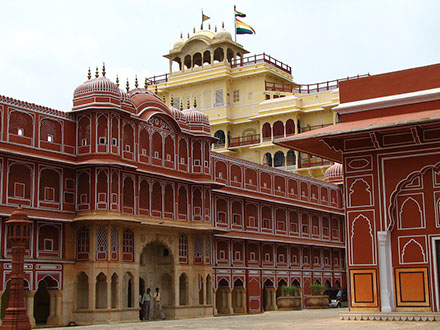 city palace on Golden Triangle