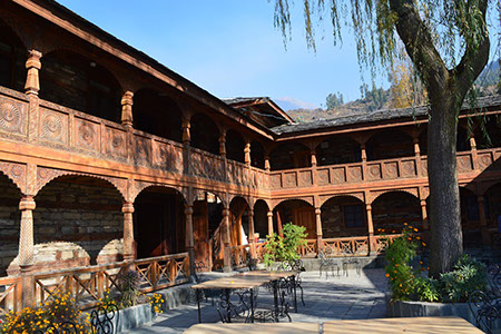 The Naggar Castle, Manali